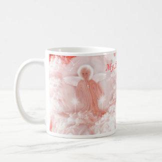 La colección de Sherri de ángel asalta el etc Taza Básica Blanca