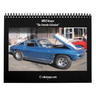 """""""La colección del Corvette """" Calendario De Pared"""