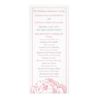 La colección floral del boda del Peony bonito Lona Publicitaria