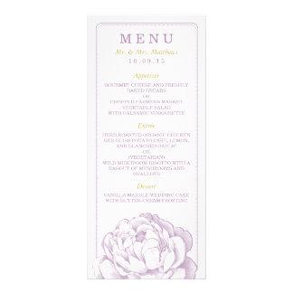 La colección floral del boda del Peony bonito Tarjetas Publicitarias
