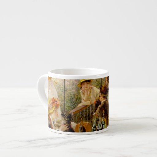 """""""La colección impresionista"""" - Renoir """"alumerzo """" Taza De Espresso"""