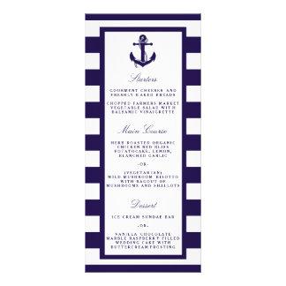 La colección náutica del boda de la raya de la lonas personalizadas