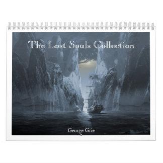 La colección perdida 2013-14 de las almas calendario de pared