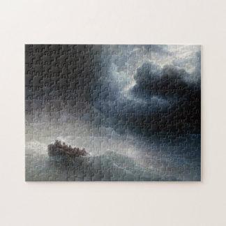 La cólera del paisaje marino de Ivan Aivazovsky de Puzzle