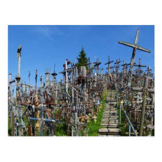 La colina de cruces de Lituania septentrional Postales