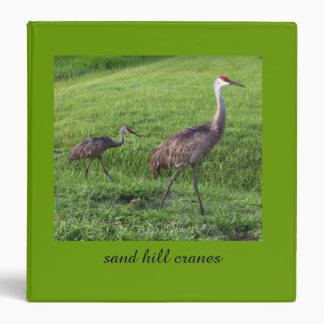La colina de la arena Cranes la carpeta 3-Ring