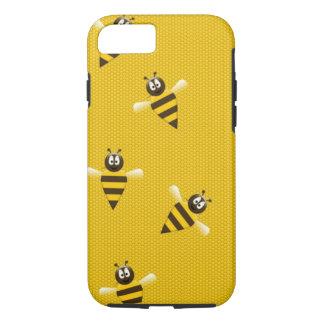 La colmena de la miel de la abeja se divierte funda iPhone 7