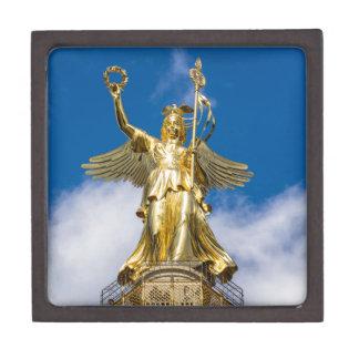 La columna de la victoria en Berlín en Alemania Cajas De Joyas De Calidad