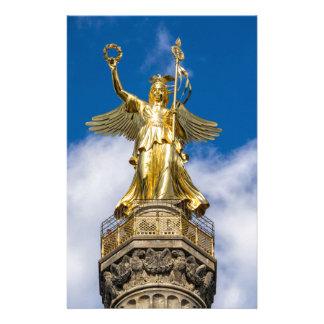 La columna de la victoria en Berlín en Alemania Papeleria Personalizada