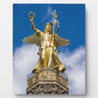 La columna de la victoria en Berlín en Alemania Placas Con Foto