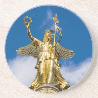 La columna de la victoria en Berlín en Alemania Posavasos Diseño