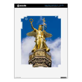 La columna de la victoria en Berlín en Alemania iPad 3 Skin