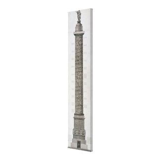 La columna de Trajan (grabado) Lona Estirada Galerías