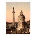 La columna de Trajan, Roma, Lazio, Italia Postal