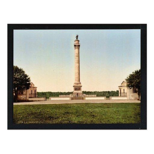 La columna del gran ejército, cla de Boulogne, Fra Postal