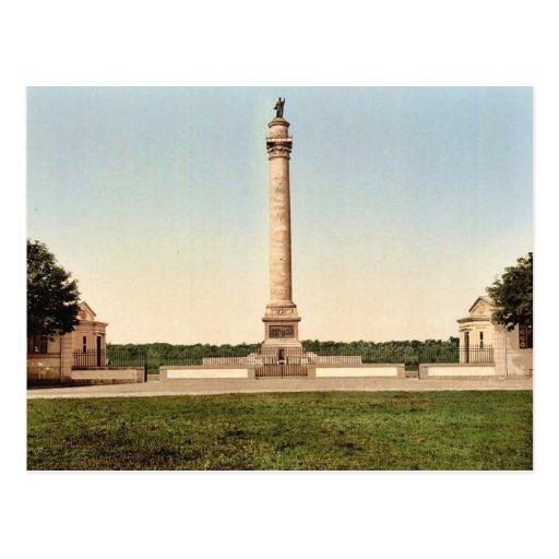 La columna del gran ejército, cla de Boulogne, Fra Tarjeta Postal