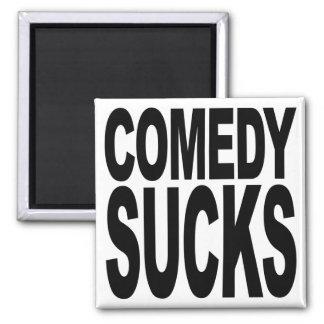 La comedia chupa imán cuadrado