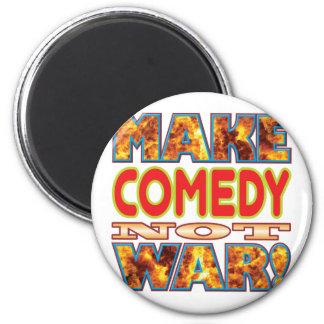 La comedia hace X Imán Redondo 5 Cm