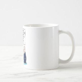 la comedia romántica del sacerdote del niño de la taza de café