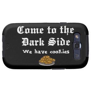 La comedia viene al lado oscuro galaxy SIII funda