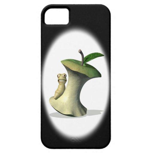 La comida Apple quita el corazón a la caja iPhone5 iPhone 5 Case-Mate Fundas