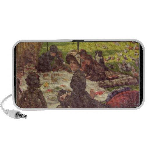 La comida campestre, c.1881-2 iPod altavoz