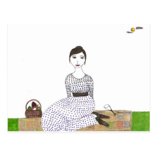 La comida campestre de Jane Austen Tarjetas Postales