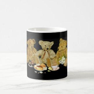 La comida campestre del oso de peluche taza de café