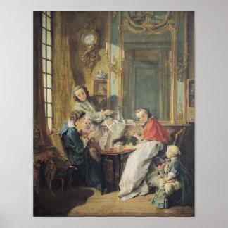 La comida de la tarde, 1739 posters