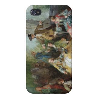 La comida del fiesta de la caza, C. 1737 iPhone 4 Carcasas