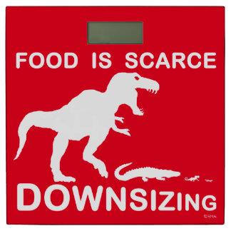 La comida es escasa, reduciendo la talla báscula