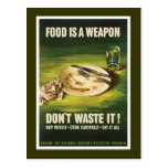 La comida es un arma - WW2 Postal