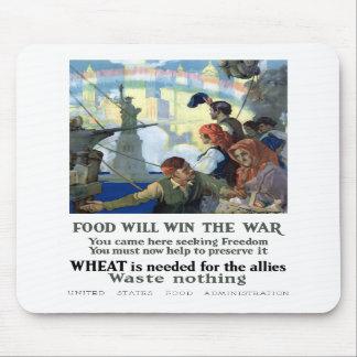 La comida ganará la guerra alfombrilla de ratones