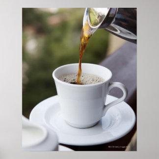 La comida, la comida y la bebida, café, vierten, g impresiones