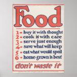 La comida no lo pierde (el poster)