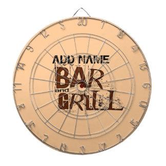 La comida personalizada del papá del Bbq del bar y
