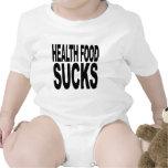 La comida sana chupa camiseta