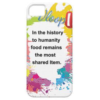 La comida sigue siendo el artículo compartido iPhone 5 Case-Mate carcasa