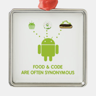 La comida y el código son a menudo sinónimos (inse ornato