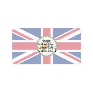 La comisión Of The British Antarctic Territor Etiqueta De Dirección