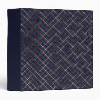 La Commonwealth del tartán de Massachusetts Carpeta 3,8 Cm