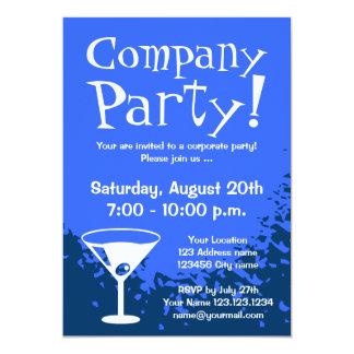 La compañía corporativa de las invitaciones el | comunicado personalizado
