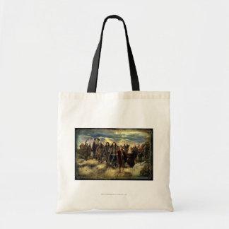 La compañía enmarcada bolsas de mano