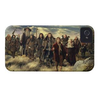 La compañía enmarcada iPhone 4 protector