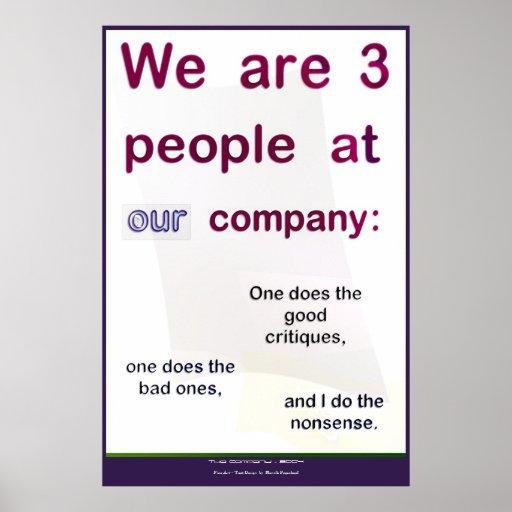 La compañía posters