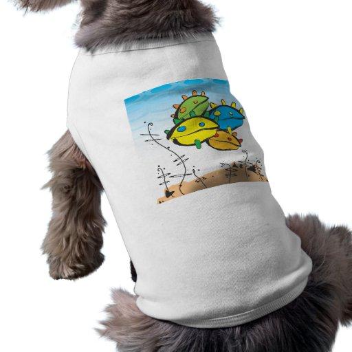 La compañía que guardo camiseta de perro