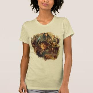 La compañía y los duendes de Mirkwood Tee Shirts
