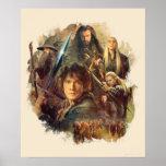 La compañía y los duendes de Mirkwood Posters