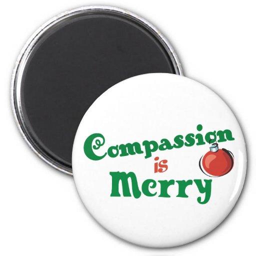 La compasión es feliz iman