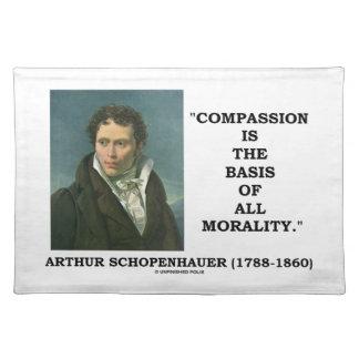 La compasión es la base de la moralidad mantel individual